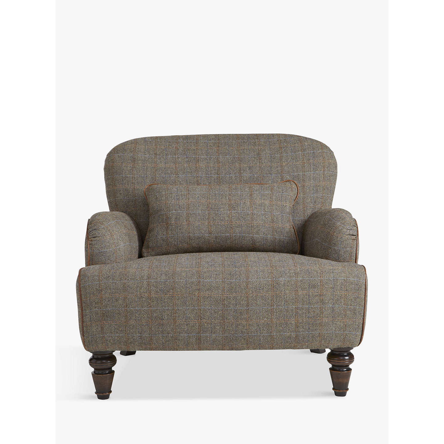 Tetrad Harris Tweed Lewis Armchair Bracken Tan At John