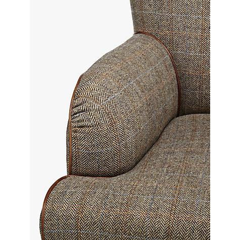 ... Buy Tetrad Harris Tweed Lewis Armchair, Bracken / Tan Online At  Johnlewis.com ...
