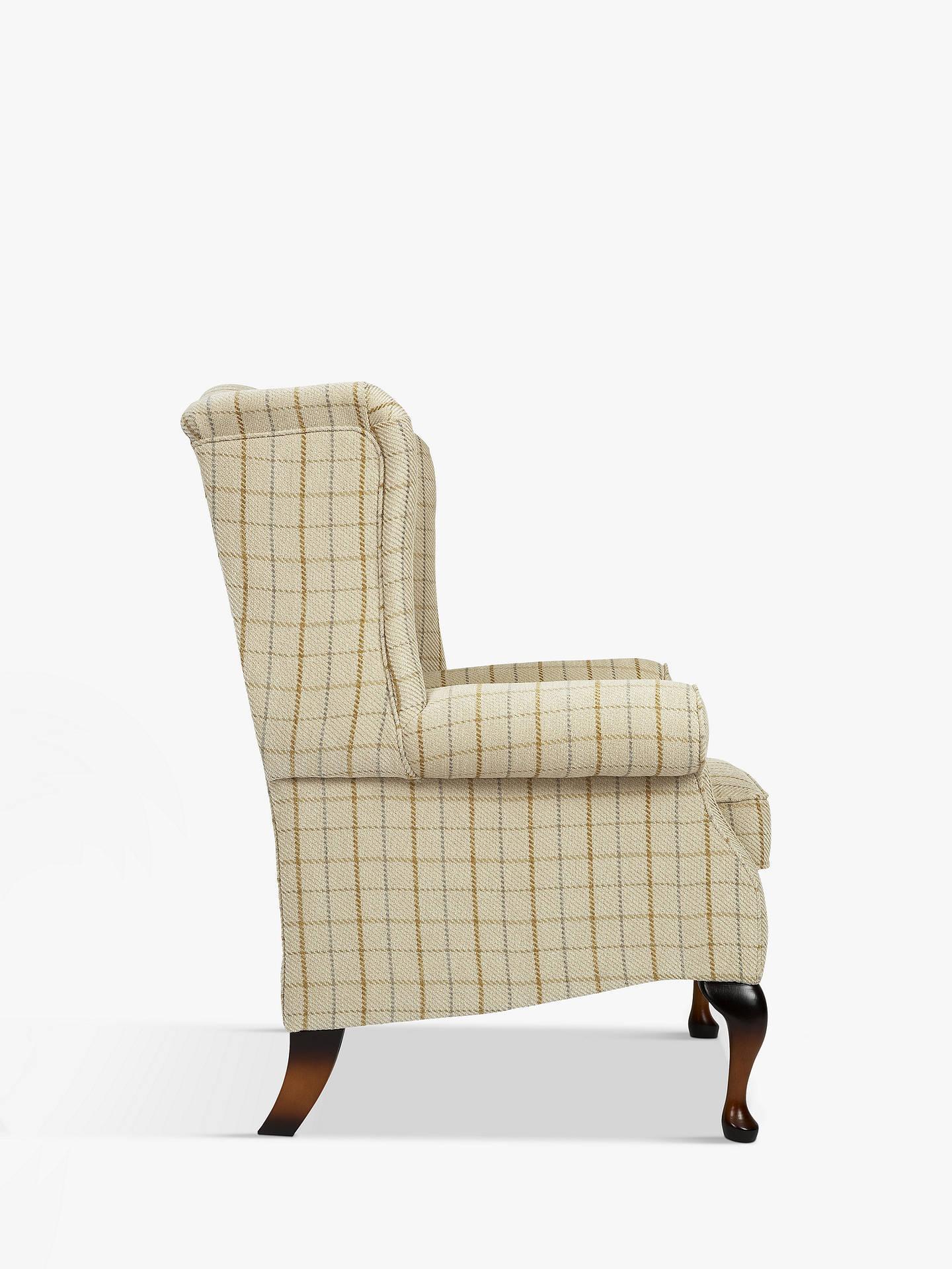 Admirable Parker Knoll Oberon Armchair Sandringham Check Machost Co Dining Chair Design Ideas Machostcouk