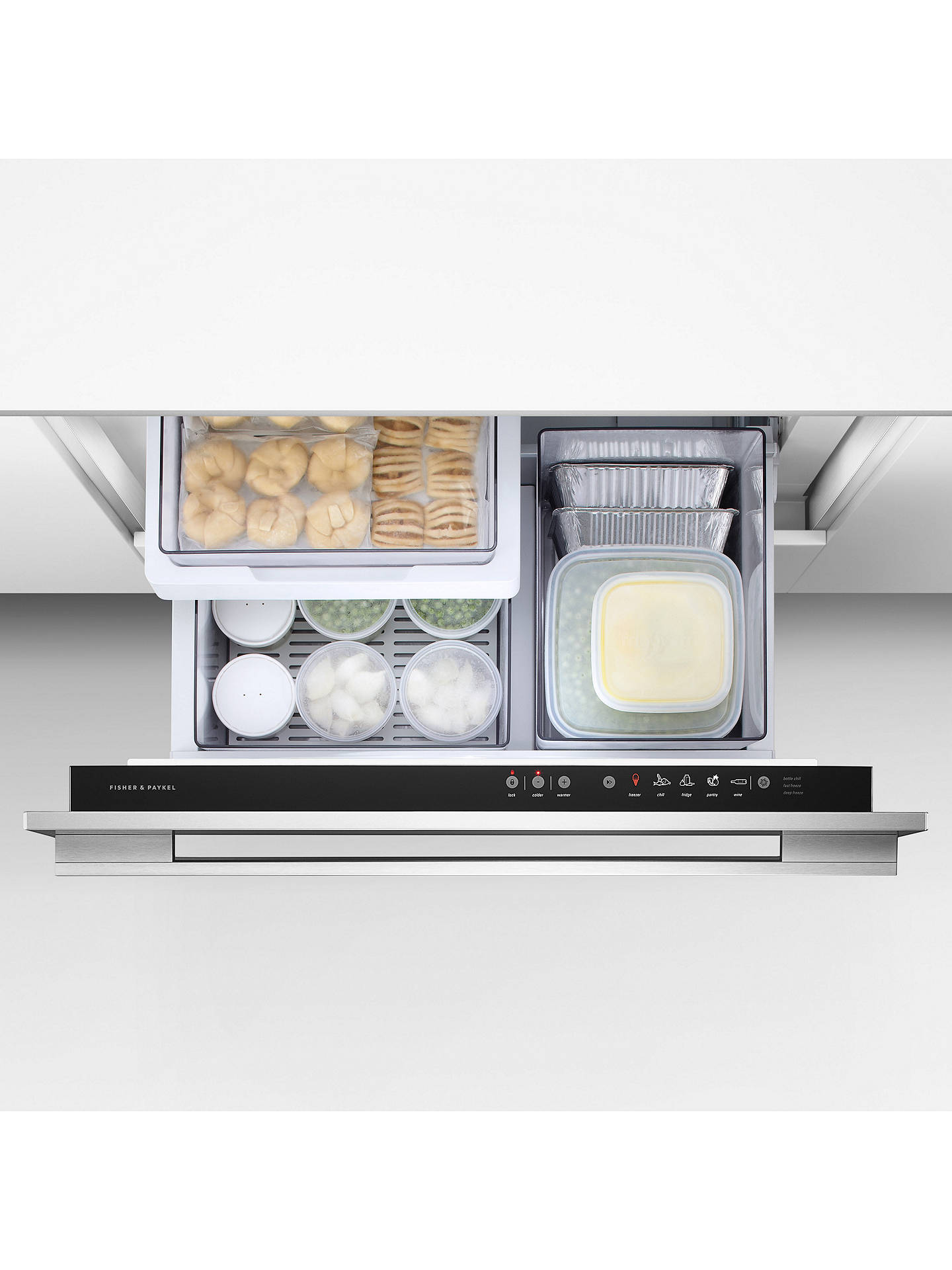 Fisher Paykel Rb90s64mkiw2 Cooldrawer Multi Temperature Refrigerator Online At Johnlewis