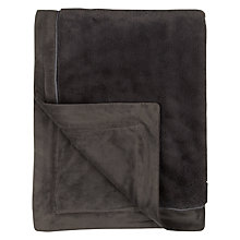 Buy John Lewis Luxury Fleece Throw Online at johnlewis.com