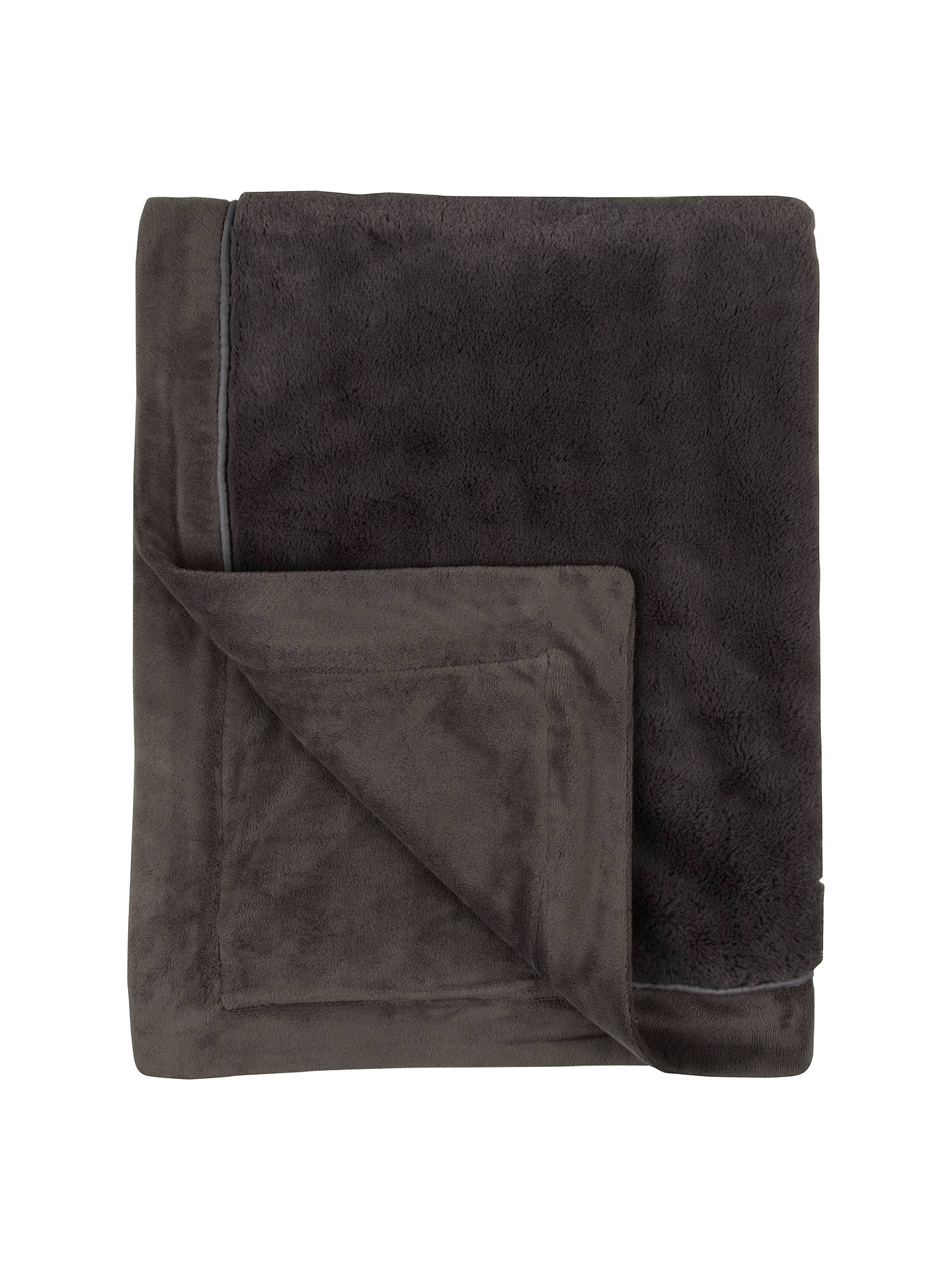 john lewis luxury fleece throw at john lewis partners. Black Bedroom Furniture Sets. Home Design Ideas