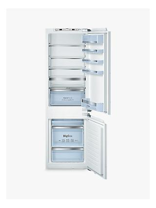 Bosch KIN86AD30G Integrated Fridge Freezer, A++ Energy Rating, 56cm Wide