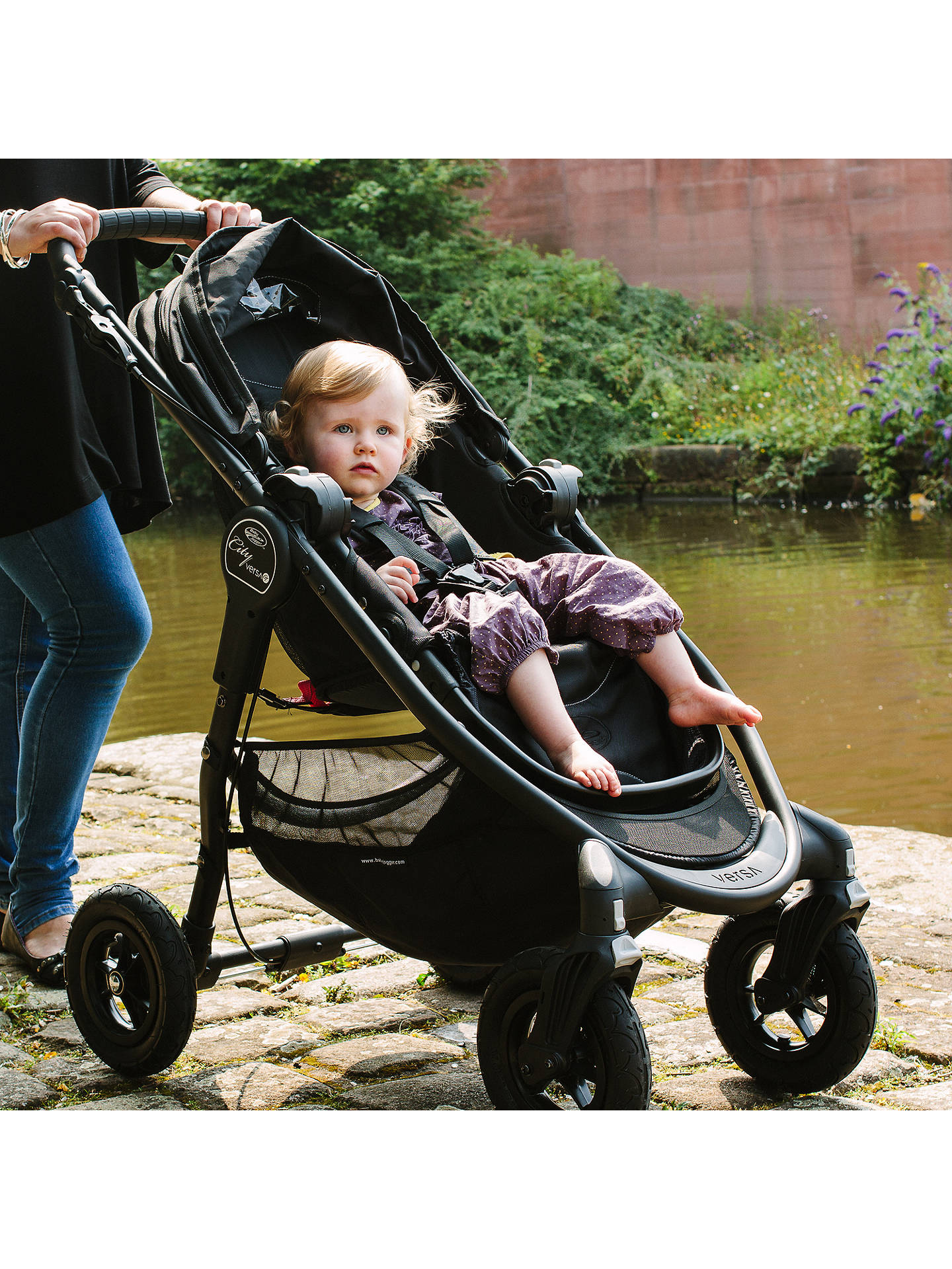 Buy Baby Jogger City Versa GT, Black Online at johnlewis.com