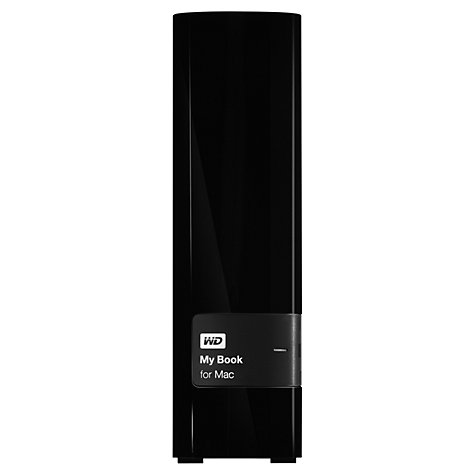 Buy WD My Book for Mac External Desktop Hard Drive USB 3.0, 2TB Online at johnlewis.com