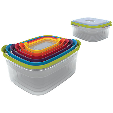 Buy Joseph Joseph Nested Storage Containers, Set of 6 Online at johnlewis.com