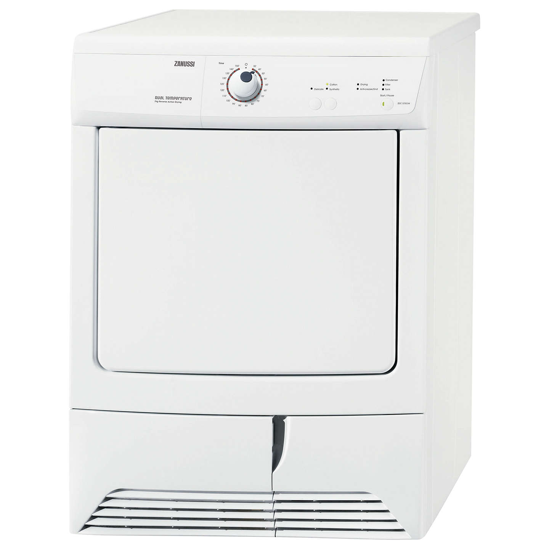 Loading Tumble Dryer ~ Zanussi zdc w condenser tumble dryer kg load c