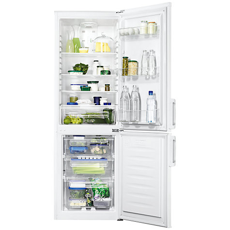 Buy Zanussi ZRB23200WA Fridge Freezer, A+ Energy Rating, 56cm Wide, White Online at johnlewis.com