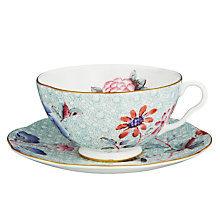 Buy Wedgwood Cuckoo Cup & Saucer, 0.18L, Multi Online at johnlewis.com