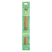 Buy Pony 20cm Bamboo Knitting Needles, Pack of 5, Assorted Widths Online at johnlewis.com