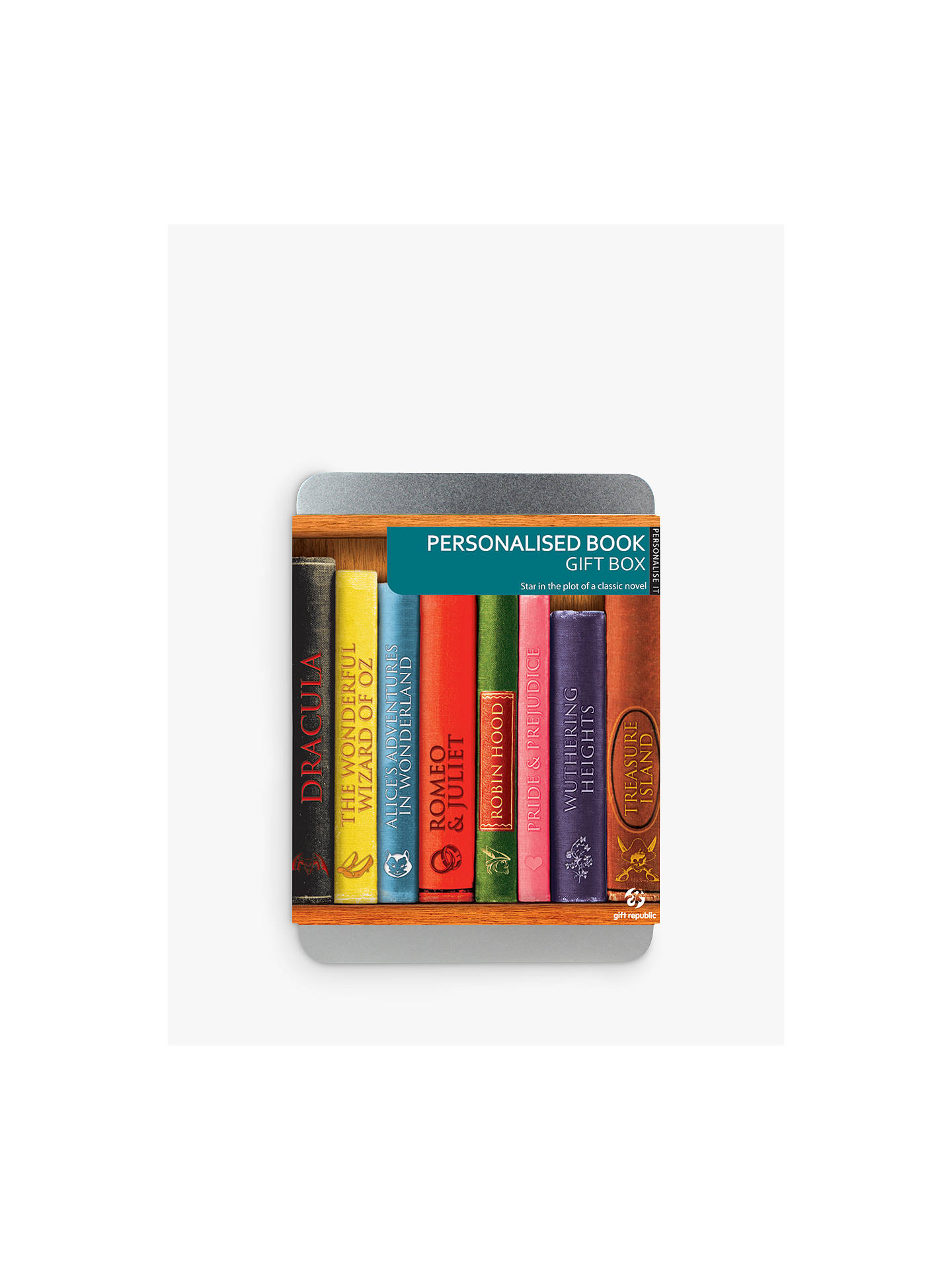 BuyPersonalised Book Gift Box Online at johnlewis.com