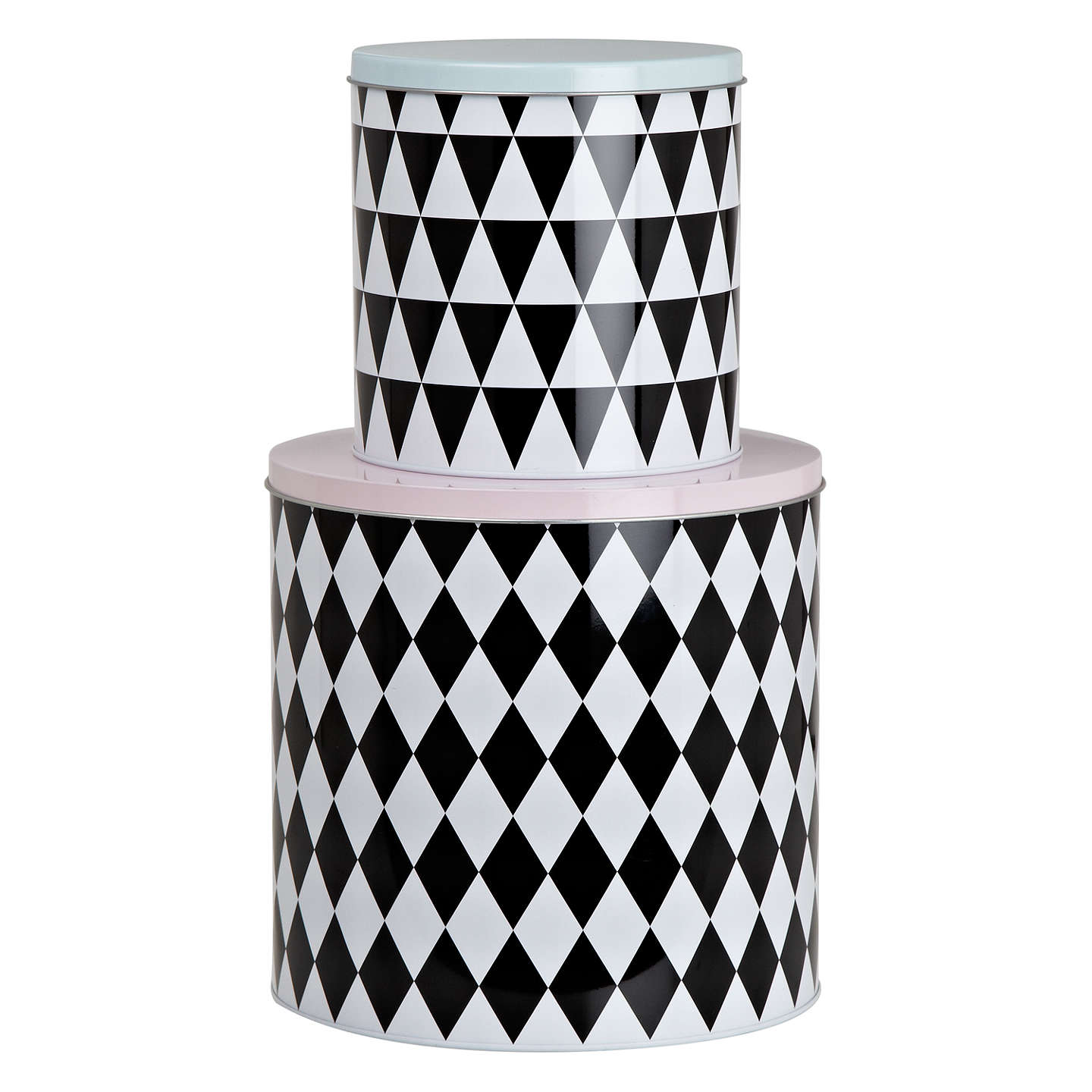 Buyferm LIVING Geometry Tins, Set of 2 Online at johnlewis.com