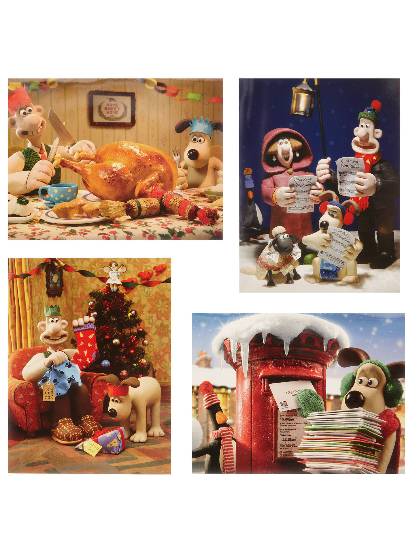 Camping Christmas Cards.Wallace And Gromit Children Charity Christmas Cards Box Of