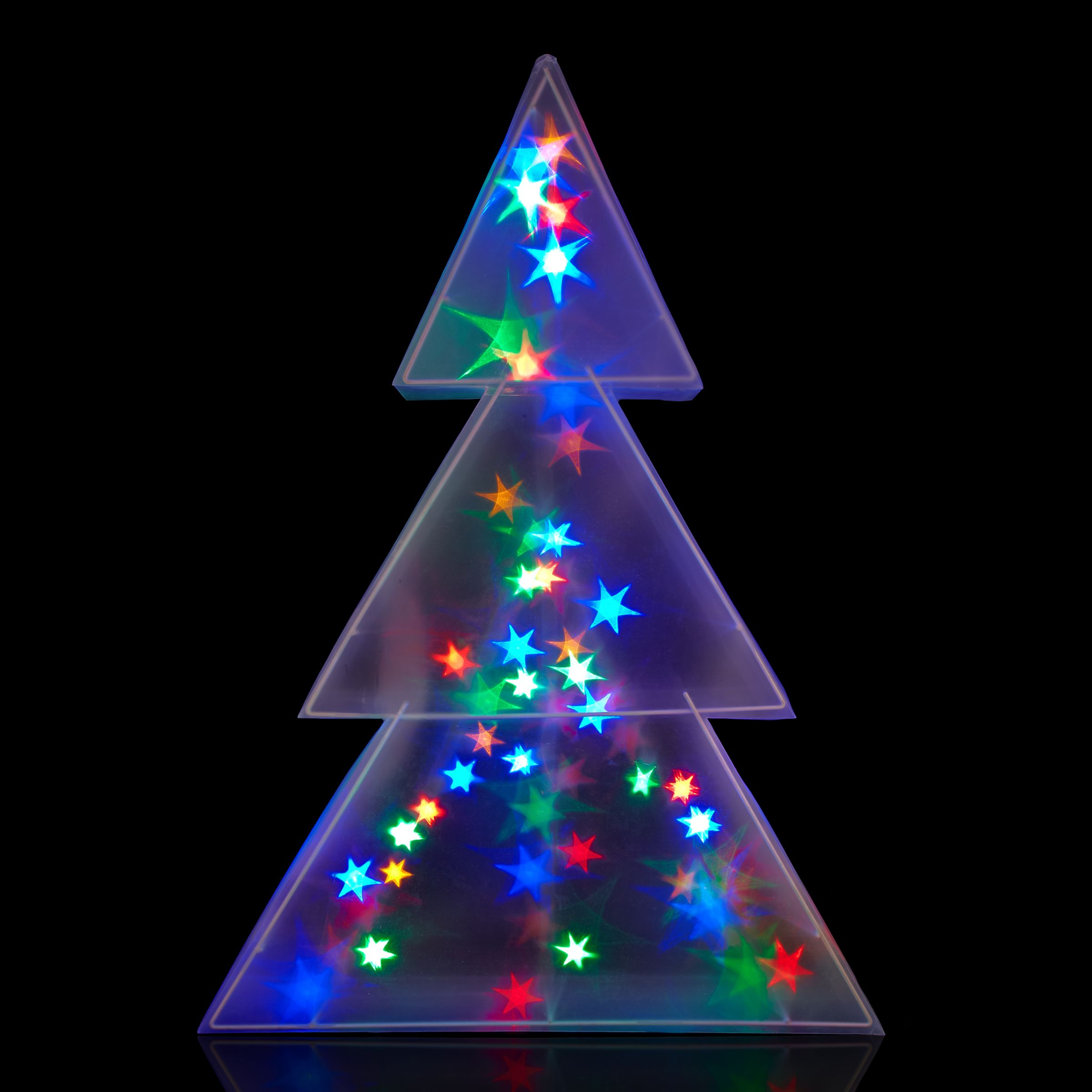 Hologram Christmas Tree Projector.John Lewis Indoor Holographic Christmas Tree Light H75cm At