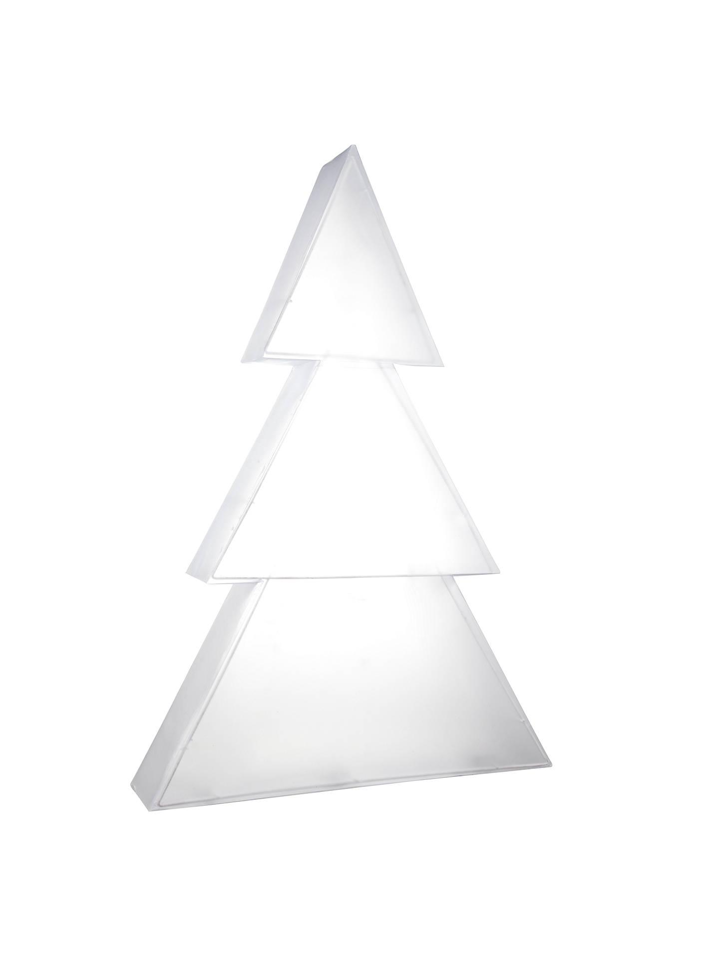 Holographic Christmas Tree.John Lewis Indoor Holographic Christmas Tree Light H75cm At