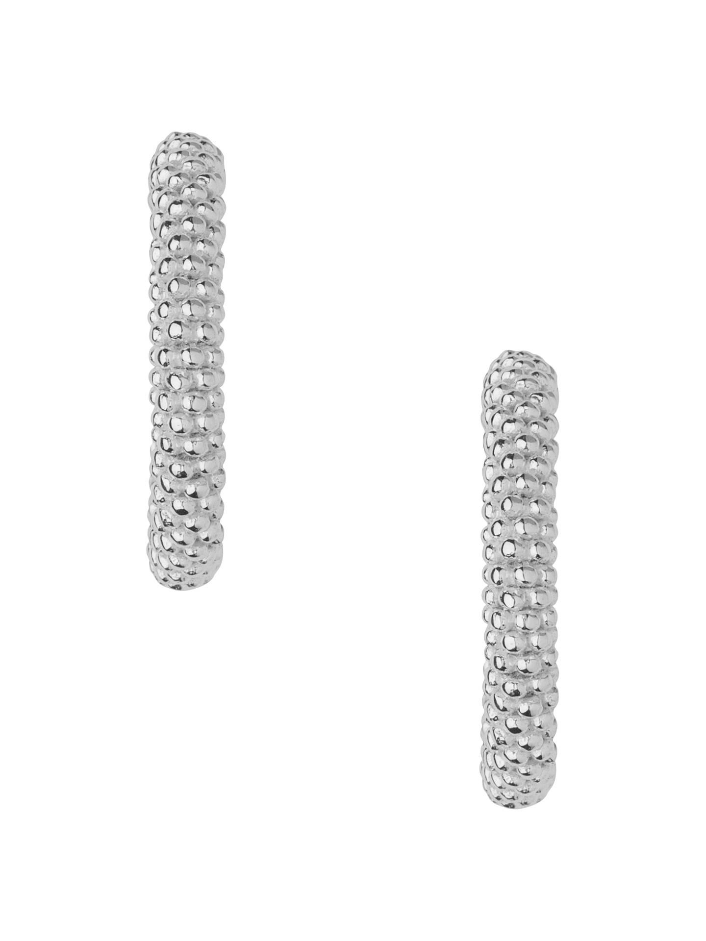 ebe3830113df5e Buy Links of London Effervescence XS Sterling Silver Hoop Earrings Online  at johnlewis.com ...