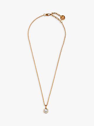 ff610b00503e DYRBERG KERN Ette Swarovski Crystal Pendant Necklace