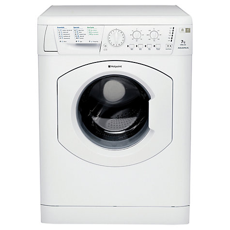 Buy Hotpoint WML720P Washing Machine, 7kg Load, A Energy Rating, 1200rpm Spin, White Online at johnlewis.com