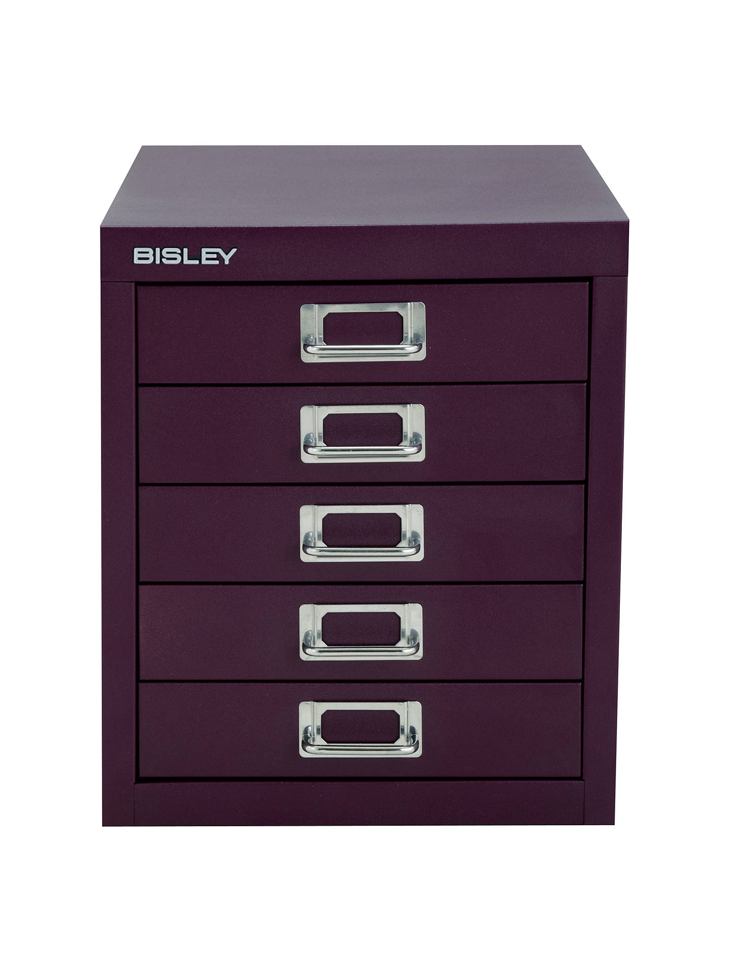 BuyBisley Non-Locking 5 Multidrawer, Cassis Online at johnlewis.com