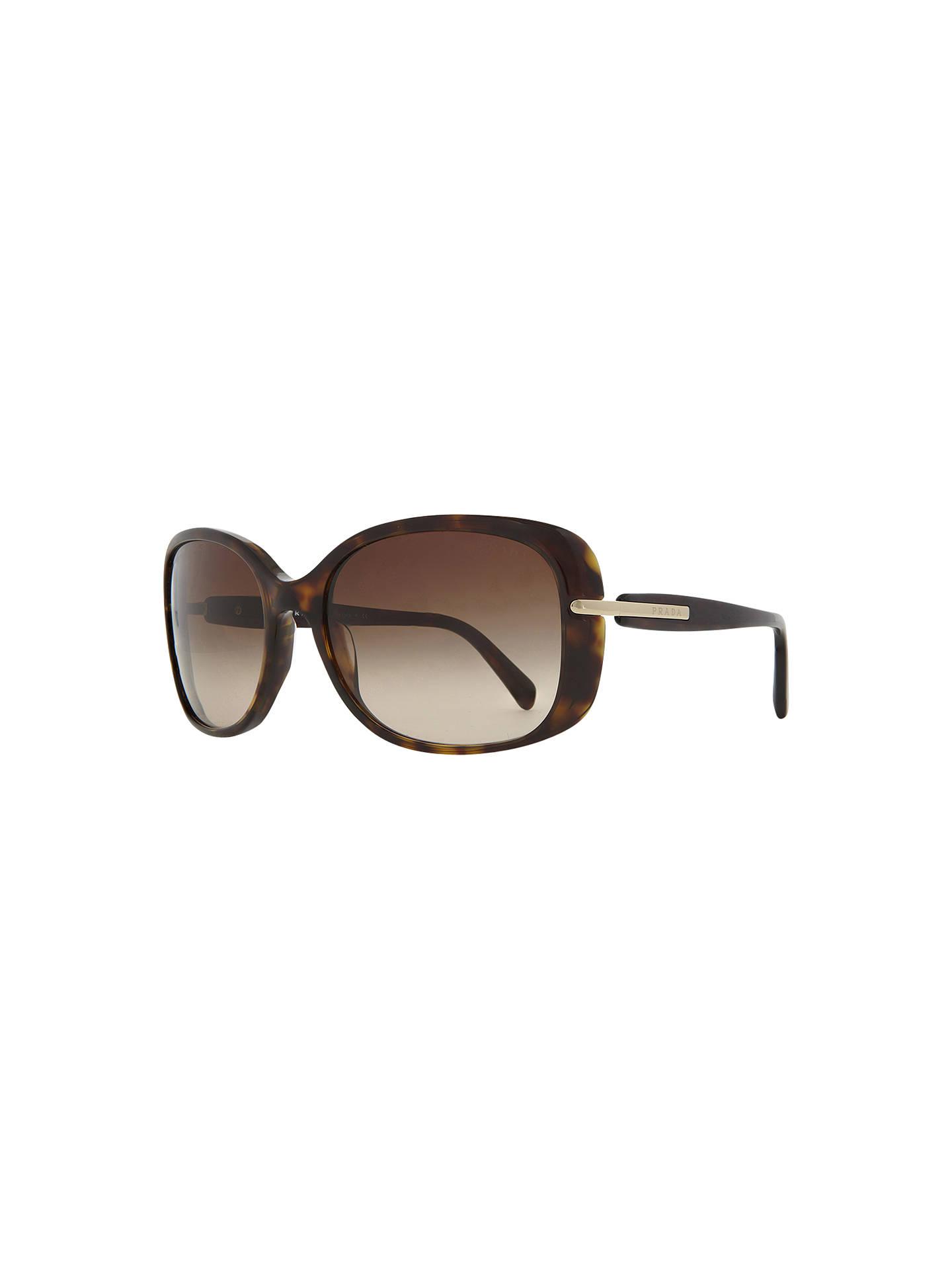 102b972a00a Prada PR08OS Oversized Square Framed Sunglasses at John Lewis   Partners