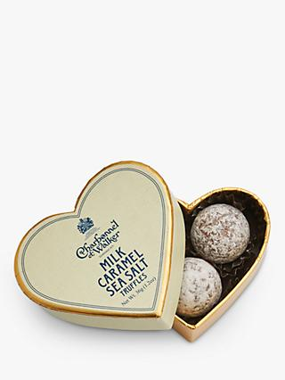 Charbonnel et Walker Sea Salt Caramel Chocolate Truffles, 36g