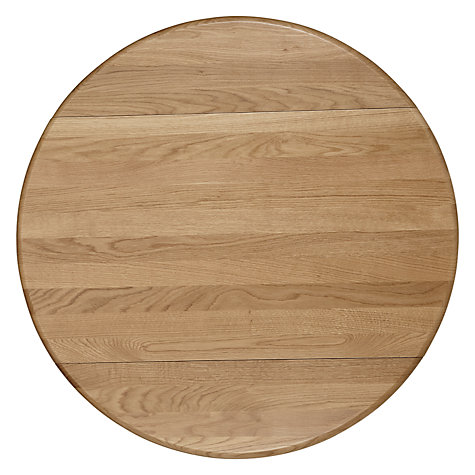 Buy John Lewis Regent 2-4 Seater Round Extending Bistro Table, FSC-Certified (Oak) Online at johnlewis.com