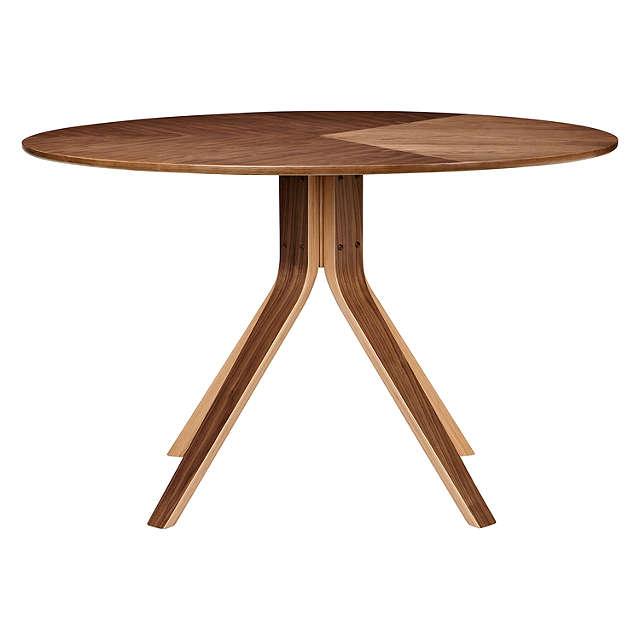John Lewis Radar 6 Seater Round Dining Table Walnut at  : 232102179alt2rsp pdp main 640 from m.johnlewis.com size 640 x 640 jpeg 20kB