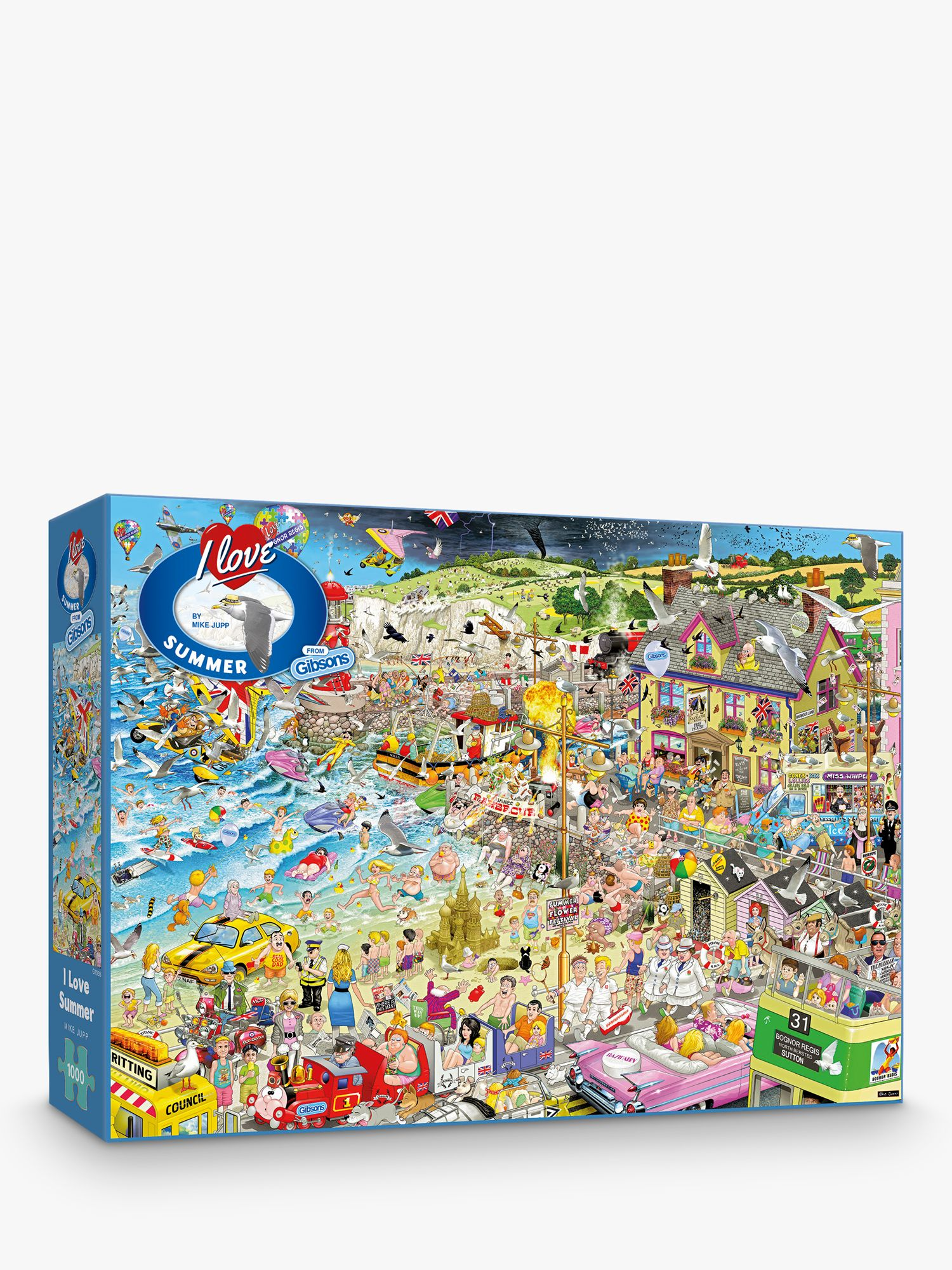 Gibsons Gibsons I Love Summer Jigsaw Puzzle, 1000 Pieces