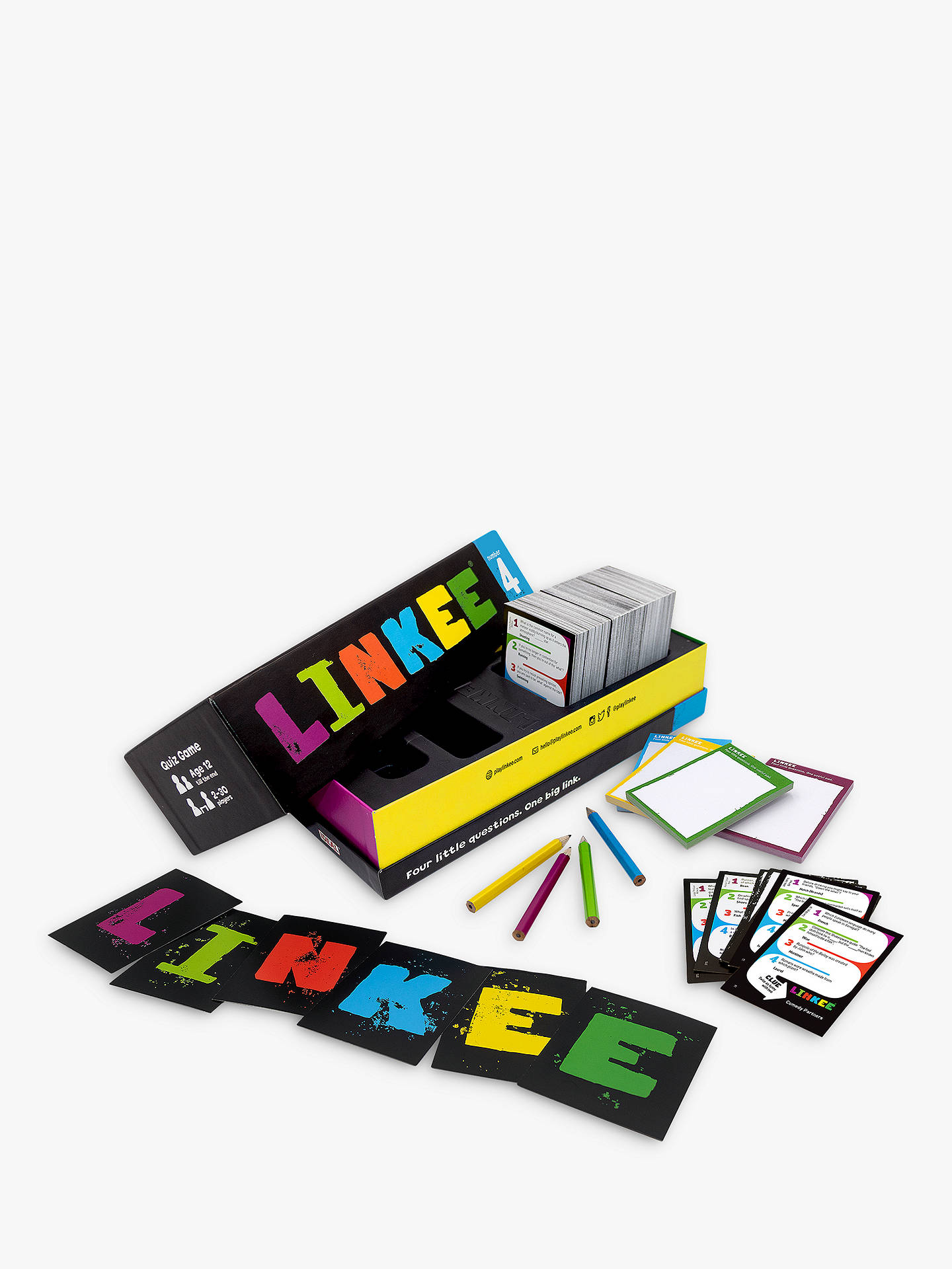 Buy Linkee Trivia Game, 3rd Edition Online at johnlewis.com