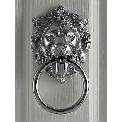 John Lewis Lion's Head Door Knocker, L14 x W10.5cm
