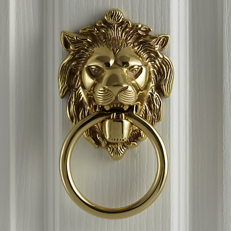 Buy John Lewis Lion S Head Door Knocker L14 X W10 5cm