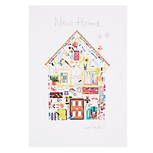 Message included new home greetings cards john lewis buy woodmansterne house of diy objects new home greeting card online at johnlewis m4hsunfo
