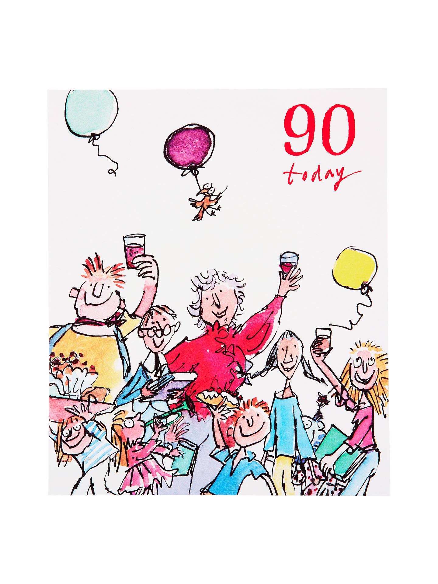 Buy Woodmansterne Toasting 90th Birthday Card Online At Johnlewis