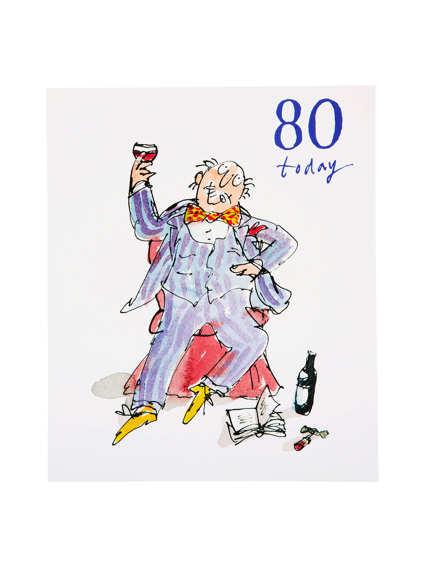 Buy Woodmansterne Soaking Feet 80th Birthday Card Online At Johnlewis