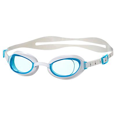 Speedo Women's Aquapure IQfit Goggles, Blue/White