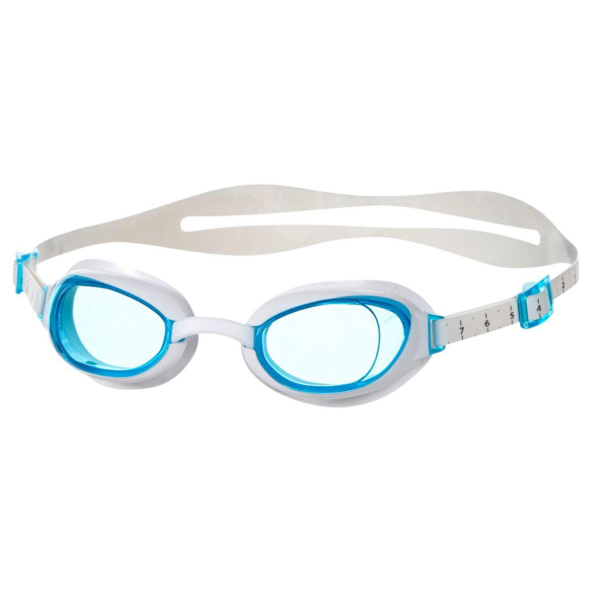 Speedo Speedo Women's Aquapure IQfit Goggles, Blue/White