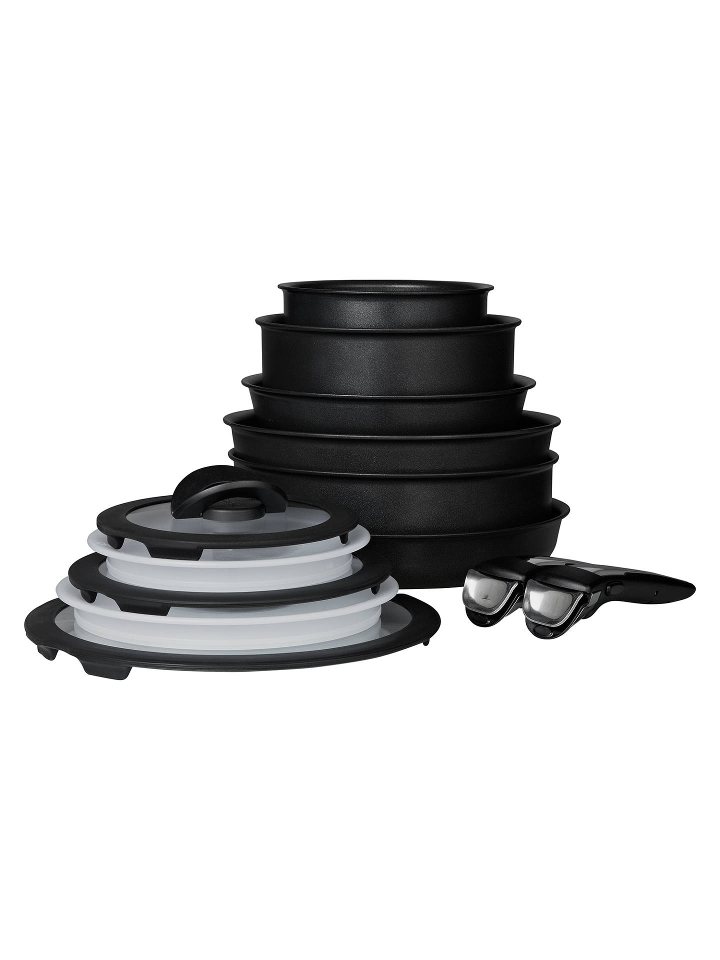 Set Ingenio Tefal 18 Pieces tefal ingenio induction the complete set, 13 piece at john lewis