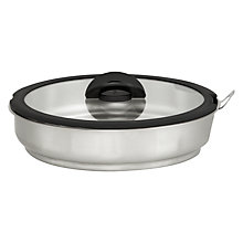 Buy Tefal Ingenio Steamer Insert with Glass Lid Online at johnlewis.com