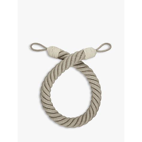 Buy John Lewis Croft Collection Thick Rope Tieback John