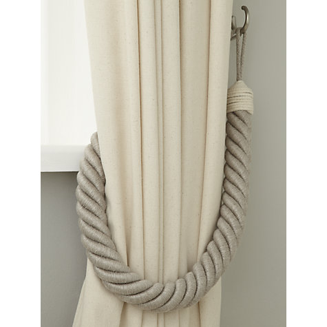 ... Buy John Lewis Croft Collection Thick Rope Tieback Online at johnlewis.com ...