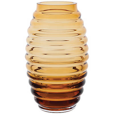 Dartington Crystal Little Gems Beehive Barrel Vase