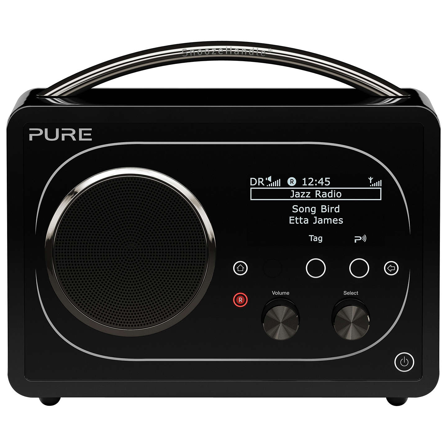 pure evoke f4 dab fm internet radio with bluetooth black. Black Bedroom Furniture Sets. Home Design Ideas