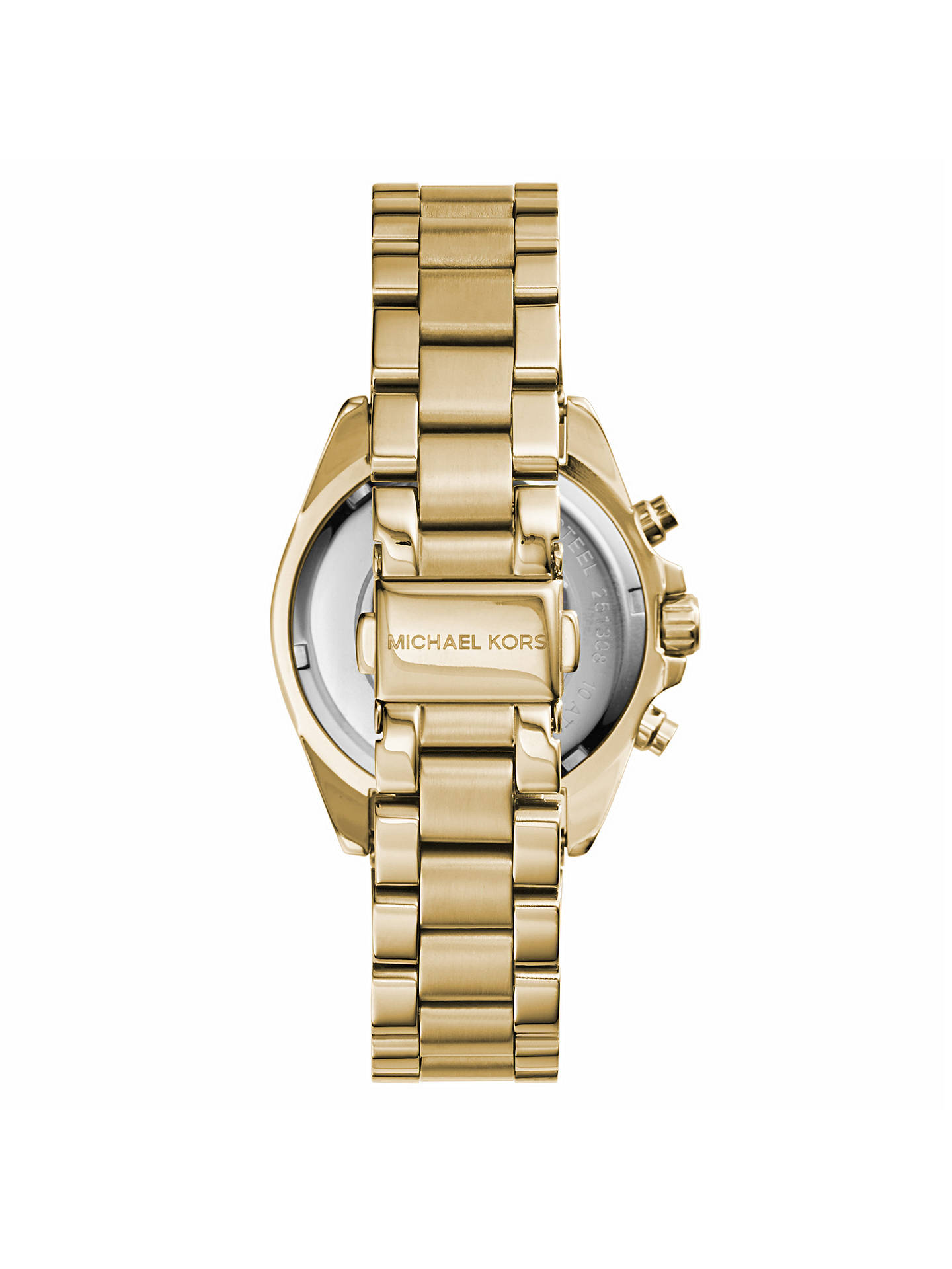 2aa43a88804c ... Buy Michael Kors MK5798 Women s Mini Bradshaw Stainless Steel Bracelet  Strap Watch