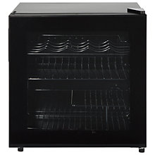 Buy Lec DF50B Wine and Beer Fridge, Black Online at johnlewis.com