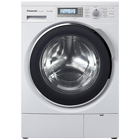 Buy Panasonic NA-140VX4WG Washing Machine, 10kg Load, A+++ Energy Rating, 1400rpm Spin, White Online at johnlewis.com