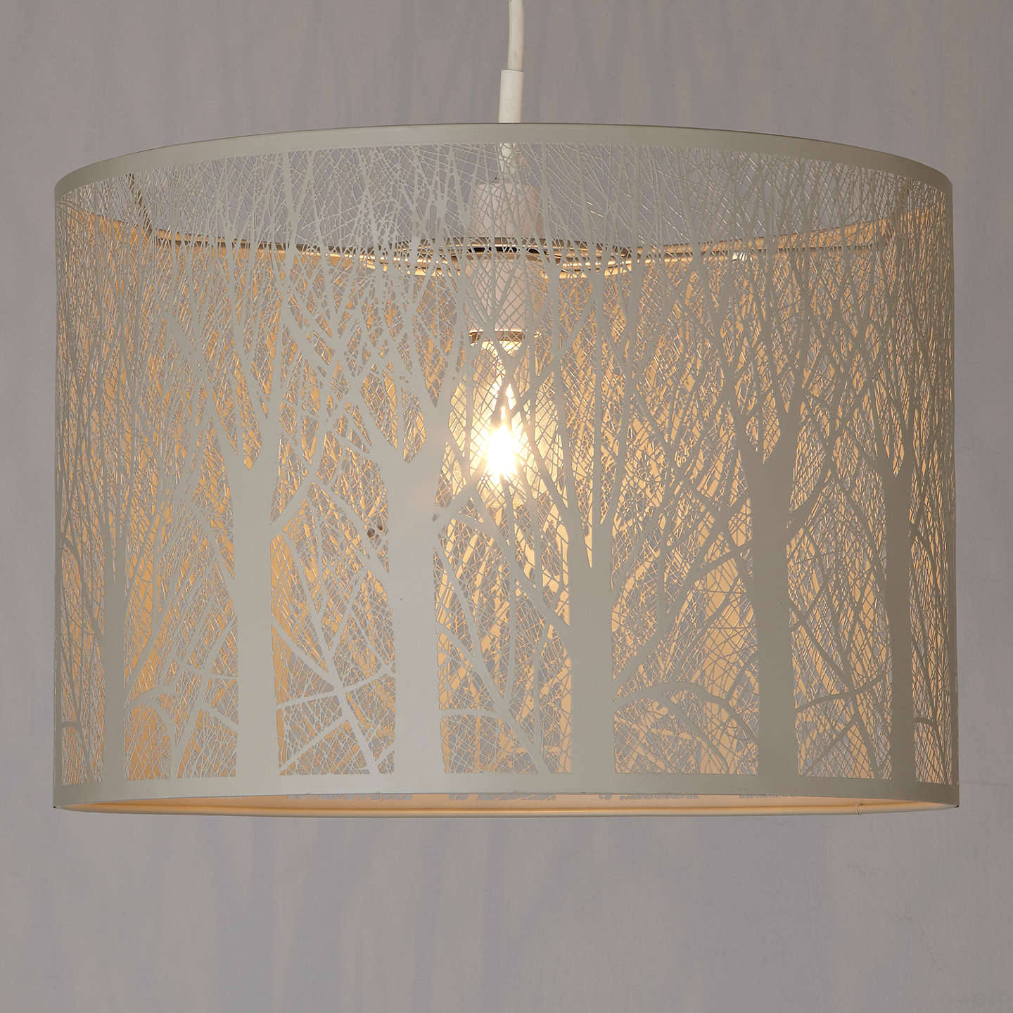 John Lewis Devon Easy To Fit Ceiling Shade Large At John