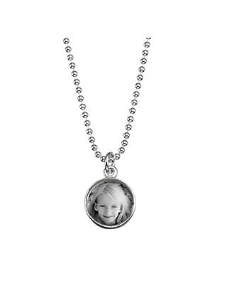 Under the Rose Personalised Tiny Photo Pendant Charm and Necklace