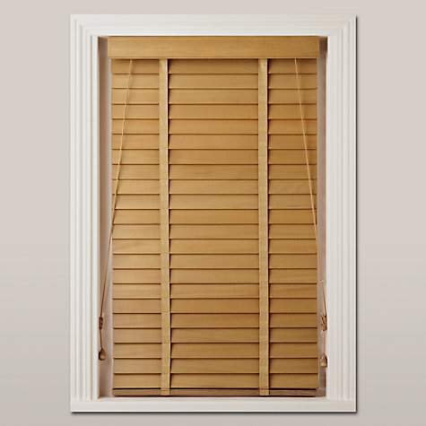 Buy John Lewis Wood Venetian Blind 50mm Fsc Certified Online At Johnlewis