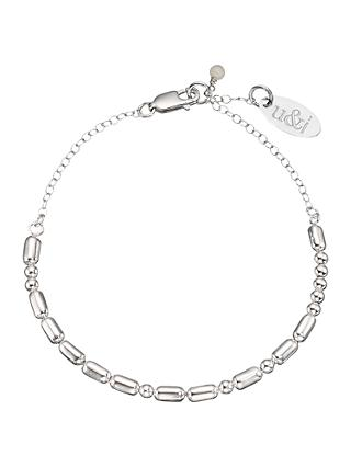 Under the Rose Personalised Love Morse Code Bracelet