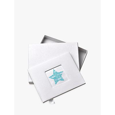 Image of Letterfest Personalised New Baby Boy Photo Album